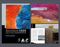 Kunstwerk Erde Brochure Design