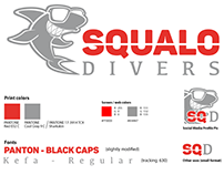 Brand update for Squalo Divers (North Miami Beach)