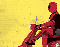 DEADPOOL 2 - Vector Movie Poster