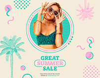 Great Summer Sale   Modern and Creative Templates Suite