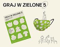 graj w zielone ✦ event branding