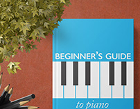 Beginner's Guide to Piano- Cover Design