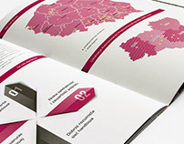 Folder for Tauron - winer of graphic design competition