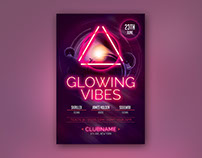 Glowing Vibes Flyer