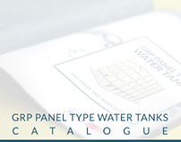 SOLICO GRP PANEL WATER TANKS - CATALOG DESIGN