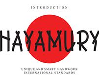 FREE | Hayamury Font