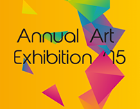 Art Exhibition Standing Banner Design