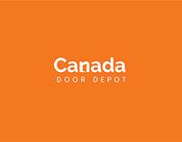 Canada Door Depot Logo Design