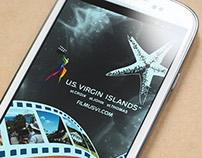 USVI Dept. of Tourism: Film USVI app