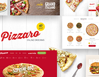 FREE Food Ordering eCommerce Template (PSD)