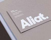 Aliat. Naming and brand Identity