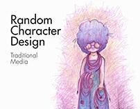 Random Character Design-Hand Drawn
