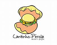 Marca - Lanchonete Cantinho da Pérola