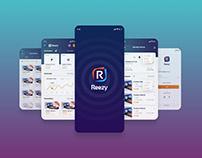 Reezy Receipt App UI/UX Design