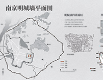 Nanjing Ming dynasty city wall infographic
