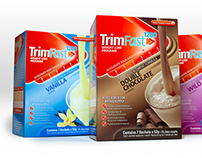 TrimFast Brand and Packaging Design