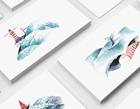 Sea Cradle cards series