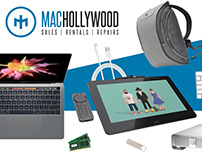 Mac Hollywood - Branding