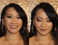 Natassia - Glam Makeup