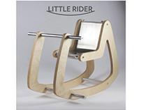 Little Rider | Modern Rocking Horse