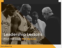 Leadership Lessons From the Great Phil Jackson