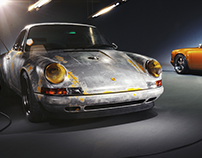Porsche Singer Full CGI Studio