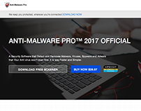 Anti Malware Pro - Website