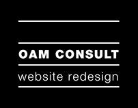 OAM Consult Website Design