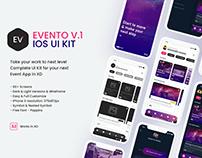 Evento V.1 iOS UI Kit
