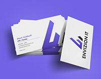 Envizion IT Logo Design and Brand Identity