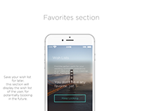 Booking app for iPhone