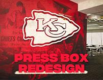 Chiefs Press Box Redesign