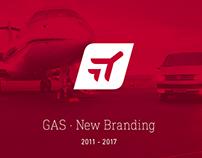 GAS · New Branding