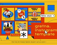 Gretna Instagram Template