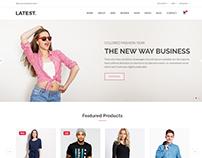 Latest - eCommerce Fashion Template