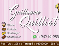 Cartão de Visitas Guillaume Quilliot