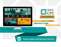 Web Design | Website SPACE Campinas Coworking
