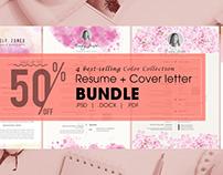 Resume/Cv CoverLetter Bundle
