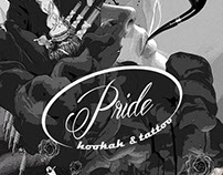 PRIDE HOOKAH & TATTOO Poster Design