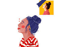Personal Project: Portrait Illustration