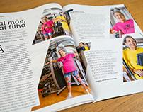 Revista Alpha Fitness - diagramação criativa