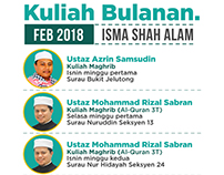 Kuliah Bulanan ISMA Shah Alam