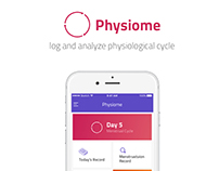 iOS UX Design for Physiome app