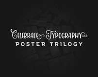 Celebrate typography - Poster trilogy