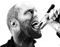 JASON STATHAM - illustration