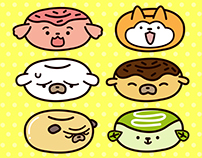 Dog Donuts Series 2 - Character Design
