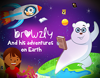 Browzly and his Adventure on Earth