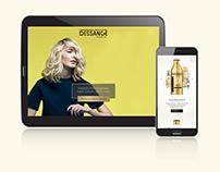 Site web DESSANGE