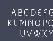 No name project | Font design | Sans serif | Typedesign