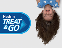 Hedrin Treat & Go Packaging & POS